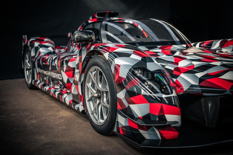 特別にオープン仕様にカスタマイズされた開発中のGR Super Sport(仮称)