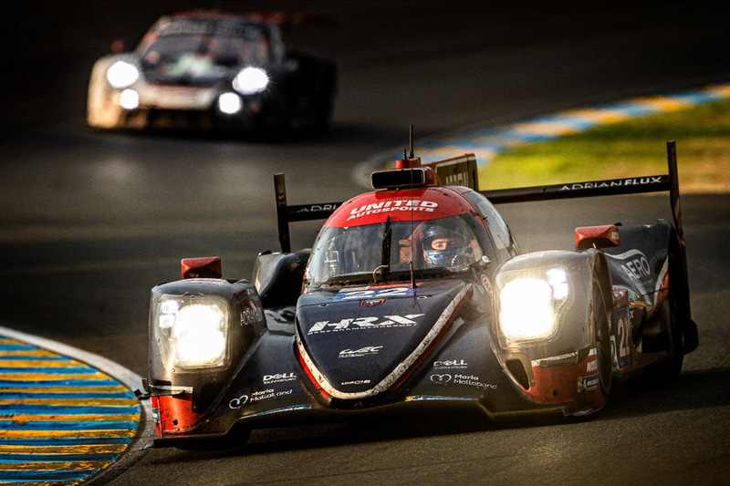 LMP2クラス優勝、22号車 United Autosports Oreca 07-Gibson(Philip Hanson/Filipe Albuquerque/Paul di Rest組)