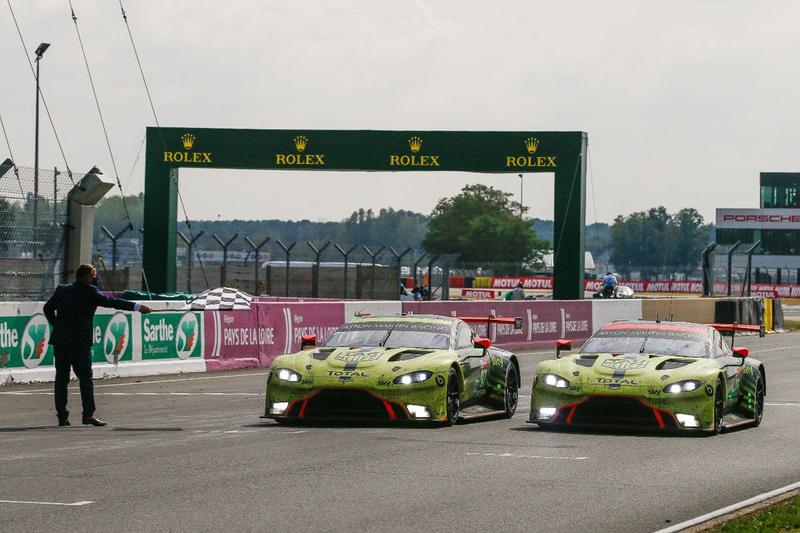 LMGTE Proクラス優勝、97号車 Aston Martin Racing Aston Martin Vantage AMR(Maxime Martin/Alex Lynn/Harry Tincknell組)