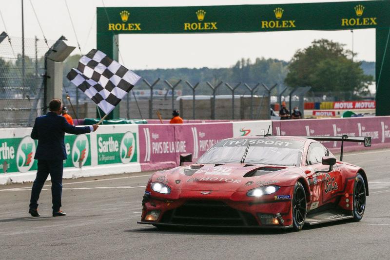 LMGTE Amクラス優勝、90号車 TF Sport Aston Martin Vantage AMR(Salih Yoluc/Charlie Eastwood/Jonathan Adam組)
