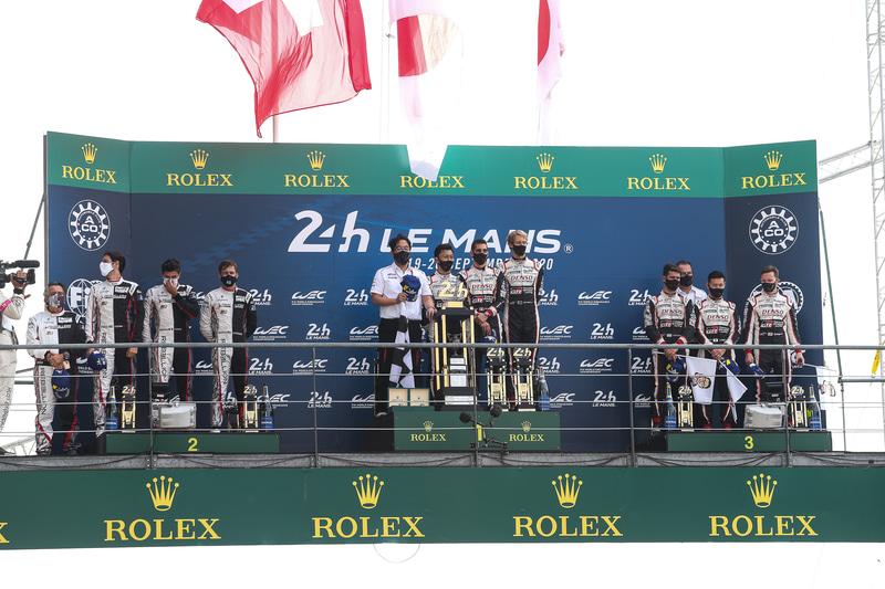 TOYOTA GAZOO Racingは、1-3フィニッシュ