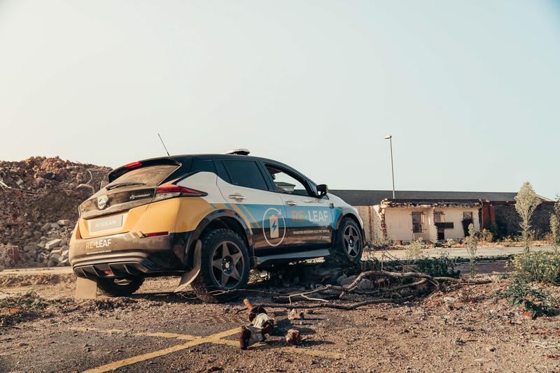災害復旧支援を目的としたコンセプトカー「RE-LEAF」