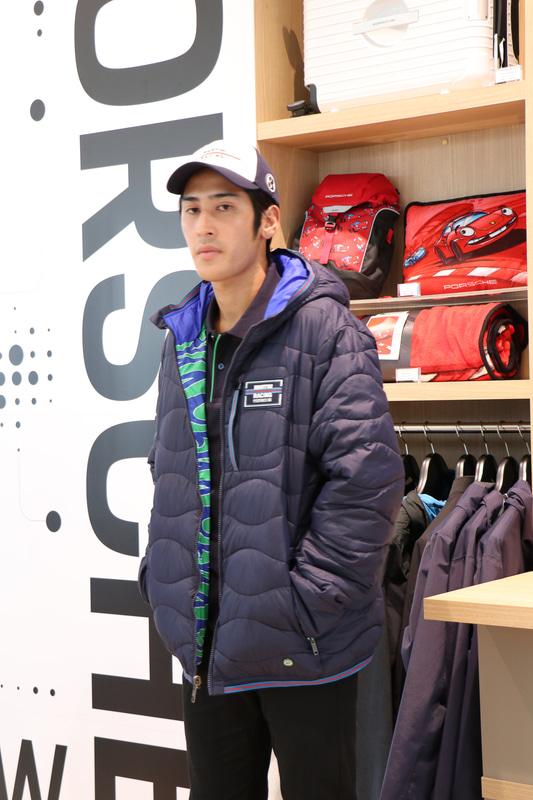 リバーシブルキルティングジャケット。価格3万250円