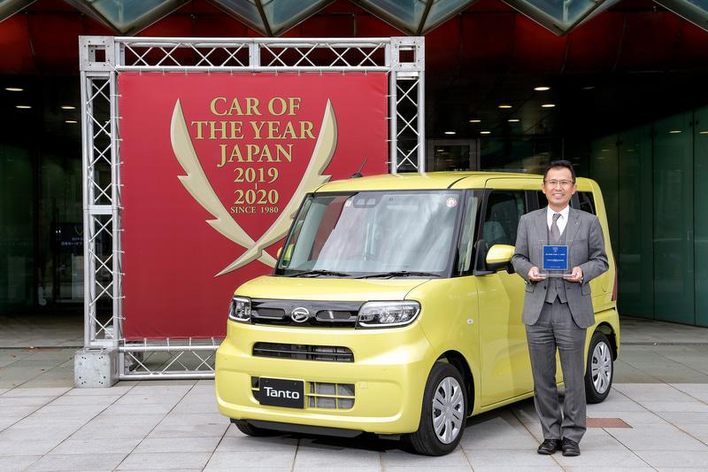 第40回 2019-2020 日本カー・オブ・ザ・イヤー 10ベストカー:ダイハツ工業「タント/タントカスタム」
