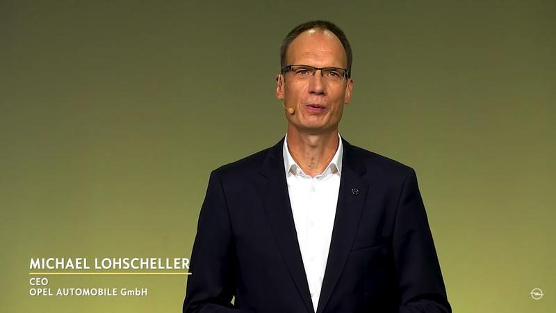 オペルオートモビルGmbH CEOのミヒャエル・ローシェラー氏