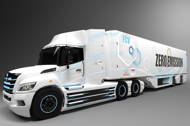 共同で開発するFC大型トラックのイメージ