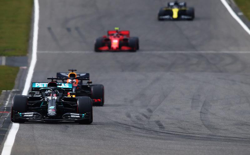 ルイス・ハミルトン選手(44号車 メルセデス) (C)Getty Images / Red Bull Content Pool