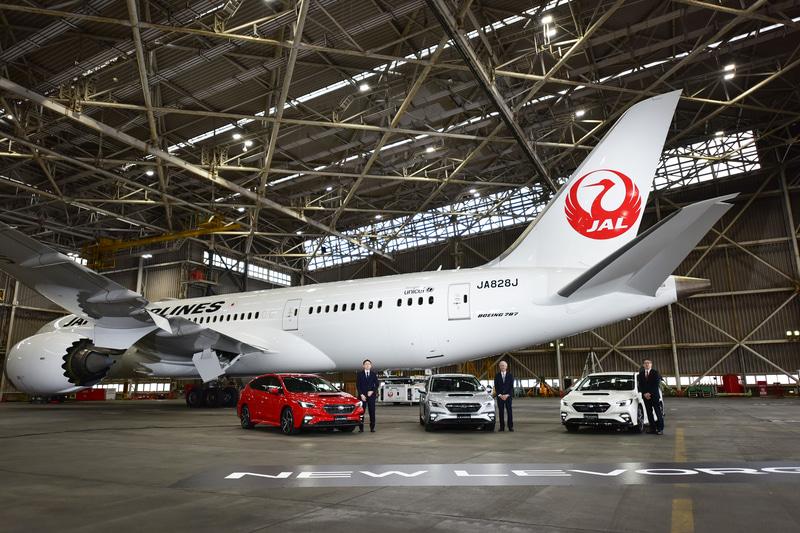 発表会の行なわれた成田国際空港 JAL Aハンガー