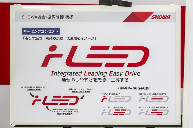 開発中ながらこの協調制御には「iLEED」という名称が与えられている。ショーワの本気度が伝わってくる
