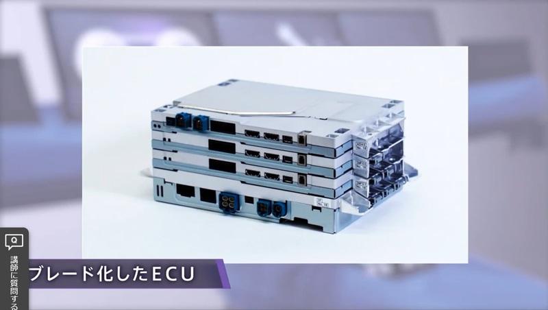 抜き差し可能なケース(筐体)を使い小型化されるコンピュータ