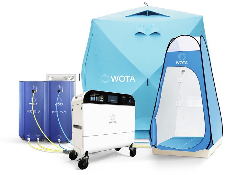 自律分散型水循環システム「WOTA BOX」受賞者:WOTA株式会社(東京都)
