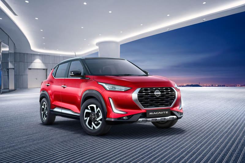 マグナイトは力強いパフォーマンス、目を引くエクステリア、先進テクノロジーを兼ね揃えたSUV。インドでは日産初となる全長4m以下の小型SUVとなる