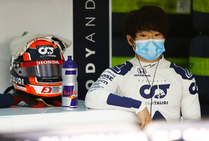 F1昇格を有望視される角田裕毅選手 Photo:Honda