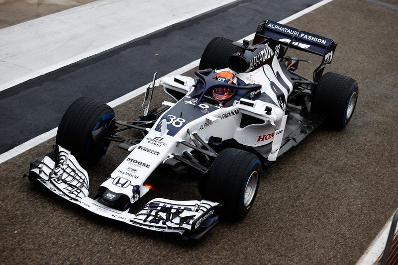 マシンとして利用されたのは2018年型のトロロッソSTR13・ホンダ Photo:Honda