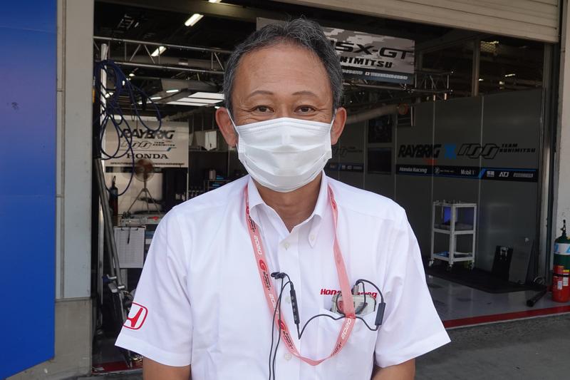 本田技術研究所 HRD Sakura LPL チーフエンジニア 佐伯昌浩氏