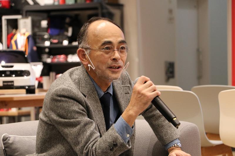株式会社本田技術研究所 デザインセンターオートモビルデザイン室 Honda eデザイン 全体統括 岩城慎氏