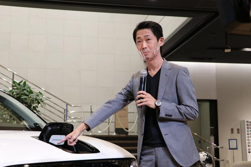 株式会社本田技術研究所 デザインセンター オートモビルデザイン開発室 Honda eデザイン エクステリア担当 佐原健氏