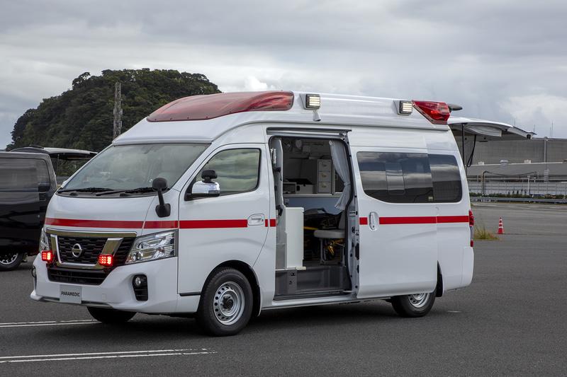 高規格救急車「パラメディック」など日産の「はたらくクルマ」が集合