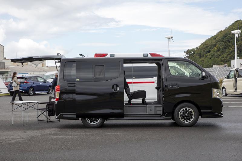 オーテックジャパンが取り扱うNV350 キャラバン マルチベッド