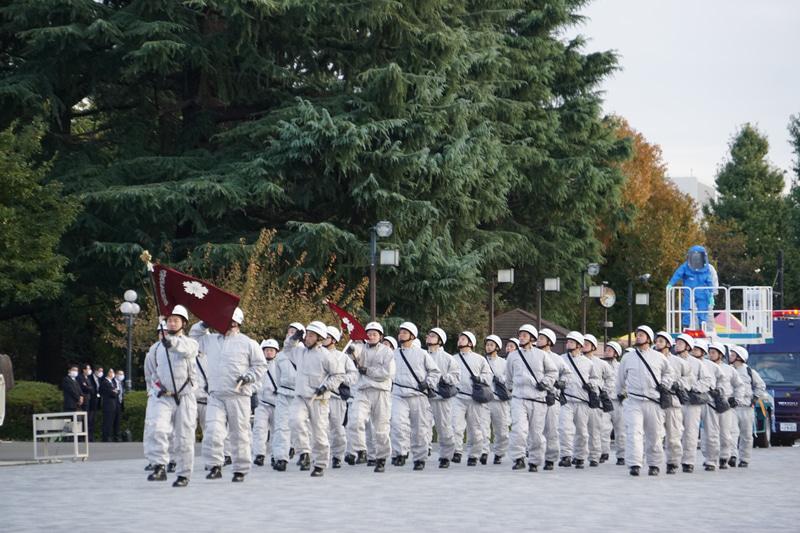 化学防護部隊