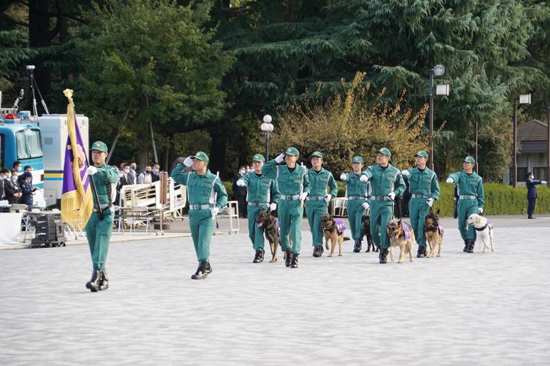 警備犬部隊