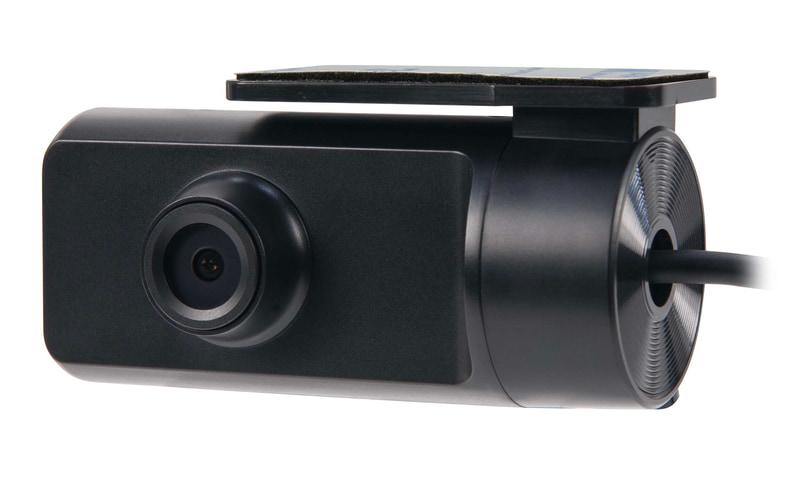 後方カメラもコンパクト設計