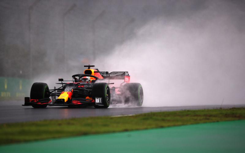 予選2位となったマックス・フェルスタッペン選手(33号車 レッドブル・レーシング・ホンダ) (C)Getty Images / Red Bull Content Pool