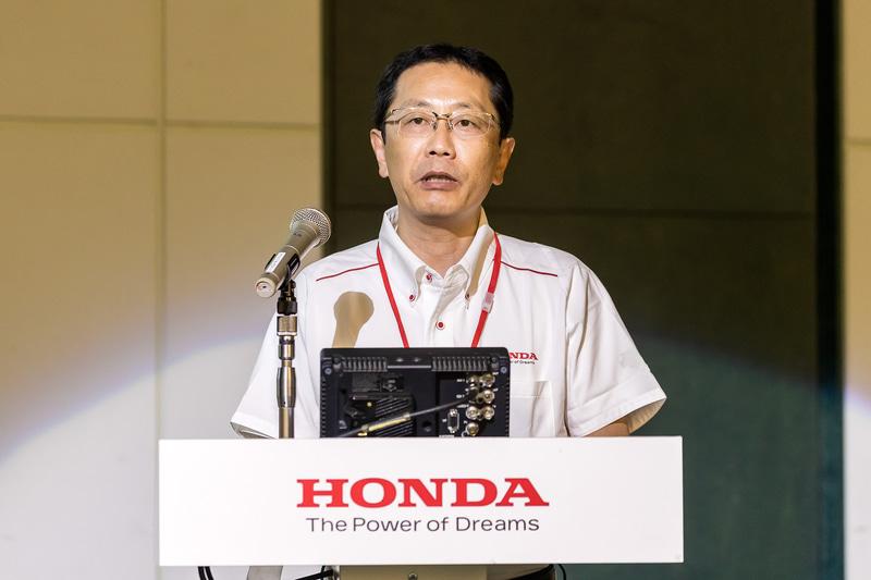 本田技研工業株式会社 四輪事業本部 ものづくりセンター 開発責任者 宮本渉氏