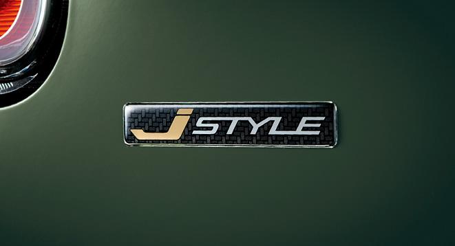 J STYLE エンブレム(バックドア)