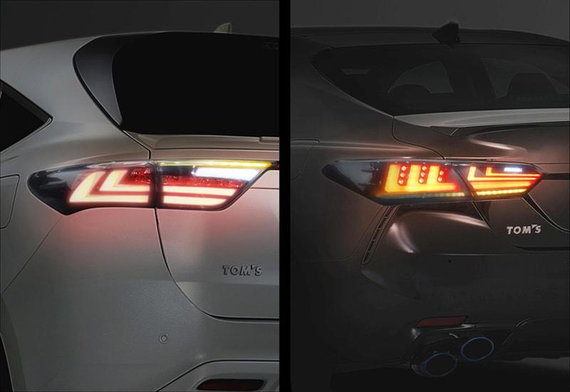 トムスの新製品「LEDテールランプ・シーケンシャル」