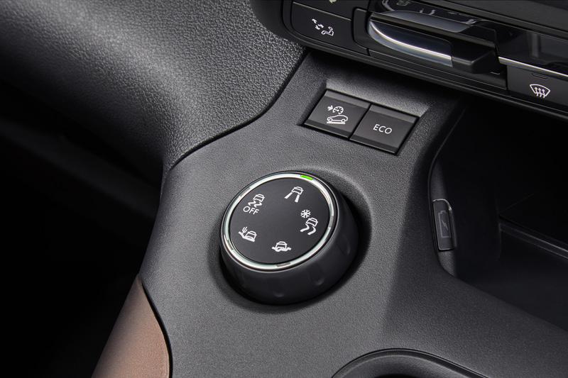 5つの走行モードを備えるアドバンスドグリップコントロールを創始