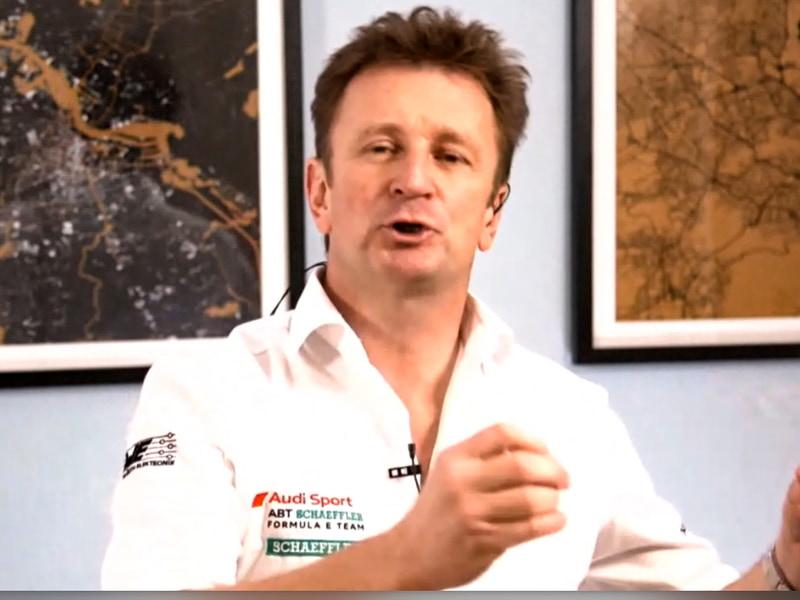 Audi Sport ABT Schaeffler チーム代表 アラン・マクニッシュ氏