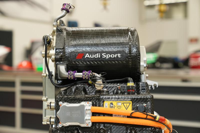 アウディが開発したフォーミュラE 主要パワートレーンAudi MGU05