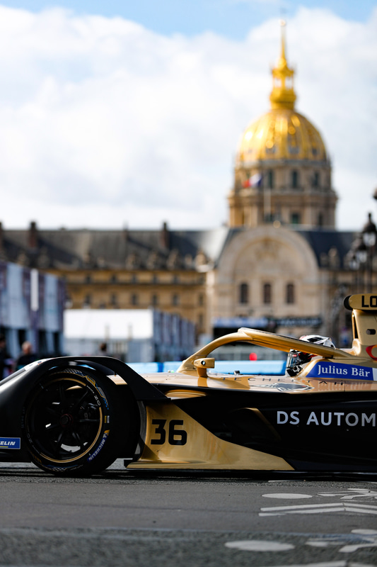 フォーミュラE 2年連続ダブルタイトルのDS TECHEETAH Formula E Team由来のスポーティなイメージを取り入れた