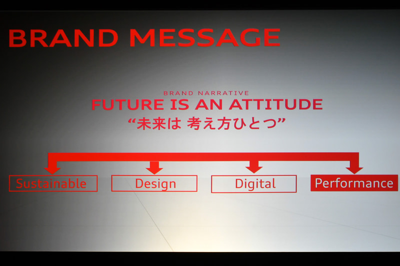 アウディのブランドメッセージおける4つの柱