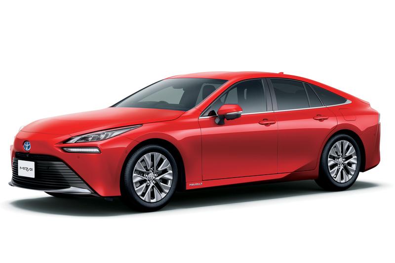 次期型昇圧用パワーモジュールが搭載されるトヨタ自動車のFCV(燃料電池自動車)新型「ミライ」