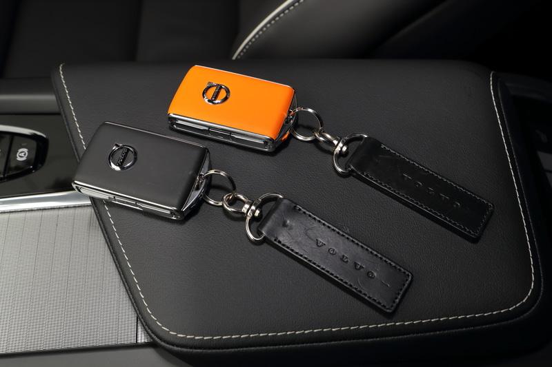 搭載されるキー2本のうち1本がオレンジ色の「ケア・キー」となり、最高速を任意に設定できるようになっている