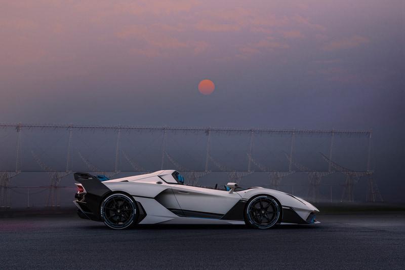 公道仕様のオープントップレーシングカー「SC20」