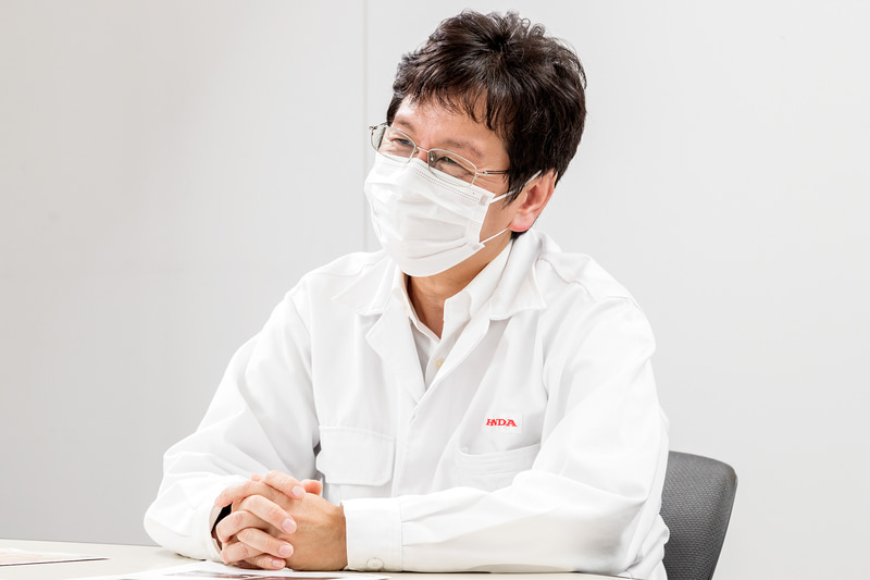 株式会社ホンダアクセス 開発部の清水隆彦さん