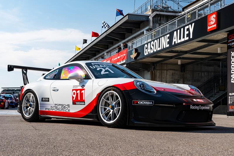 「Porsche Sprint Challenge North America by Yokohama」に参戦する991型911 GT3 Cup