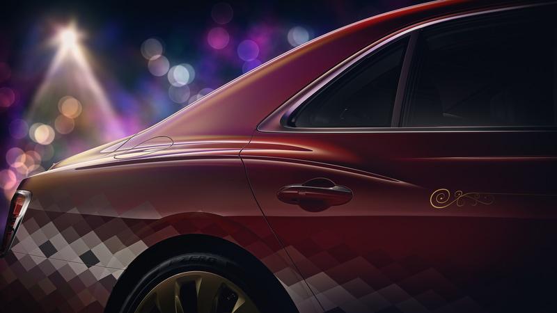 ワンオフの外装は、エクステンデッドレンジが提供する62色の中の1色である「クリケットボール」をベースに、この顧客のためだけに作成した特別なカラー「深紅のクリケットバブル塗装」で仕上げられている