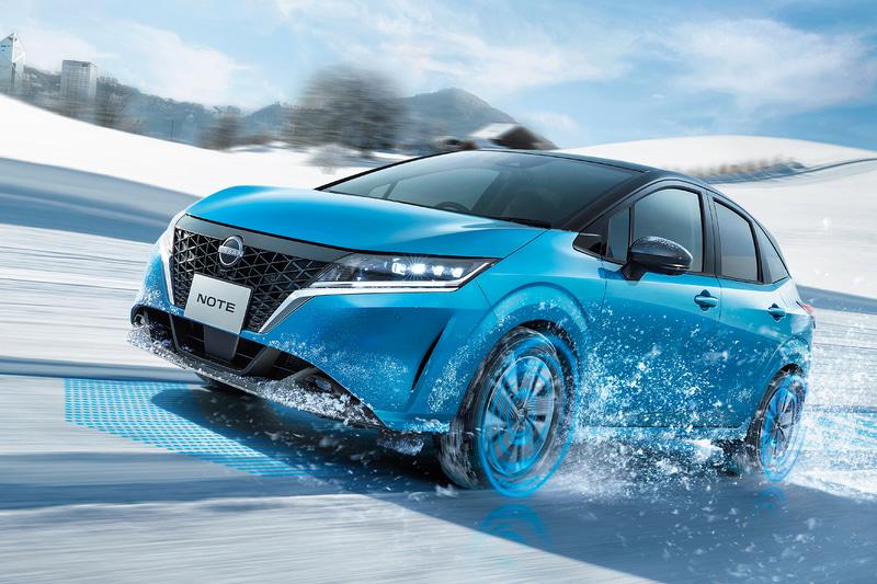 新型「ノート」e-POWERの4WDモデルを発表