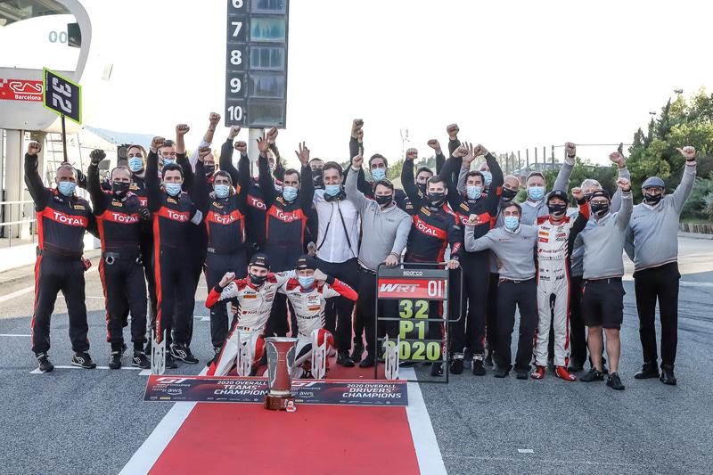 GT World Challenge Europe Sprint Cupでは7人のドライバーがタイトルを獲得
