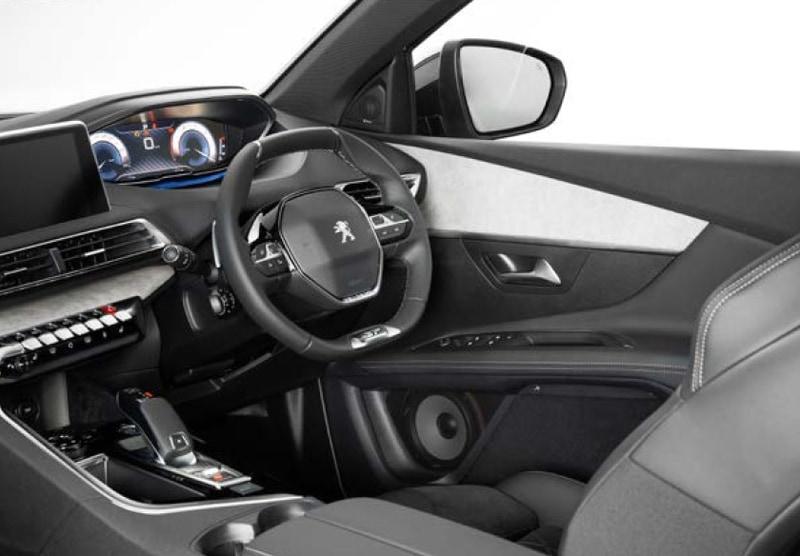 3008 GT BlueHDiの装着イメージ(画像は見えやすいように一部加工あり)