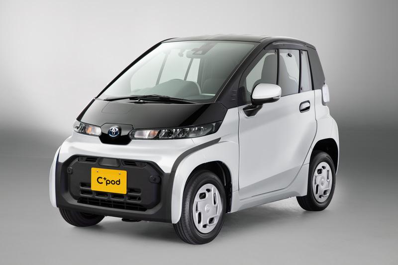 トヨタ自動車が2020年12月に発売した超小型EV「C+pod」