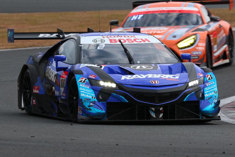 2020年シーズンチャンピオンの100号車 RAYBRIG NSX-GT(山本尚貴/牧野任祐組、BS)。画像は2020年シーズンのもの