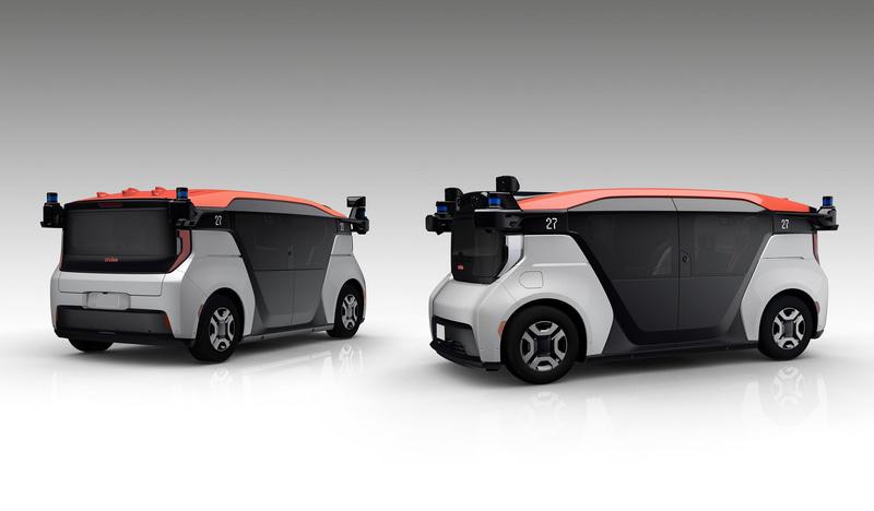 ホンダ・GM・クルーズの3社で共同開発している自動運転モビリティサービス事業専用車両クルーズ・オリジン