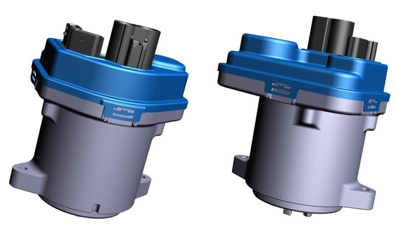 EPSおよび内製MCUの3Dイメージ
