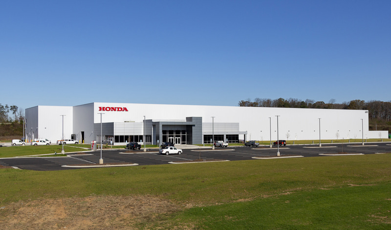 米国 ノースカロライナ州に建設された新ハンガー