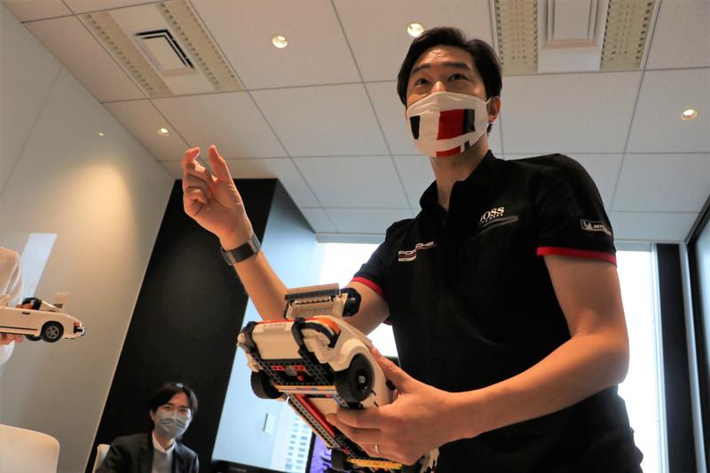 レゴ ポルシェ 911の完成度の高さを語るポルシェジャパン株式会社 広報部 部長 黒岩真治氏